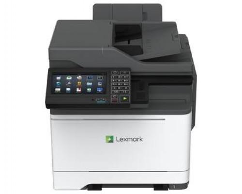 МФУ Lexmark CX625adhe Лазерное цветное (A4, 1200*1200dpi, 38 стр/мин, дуплекс, цв.сканер, цв.копир, цв.факс, сеть, 2048MБ)