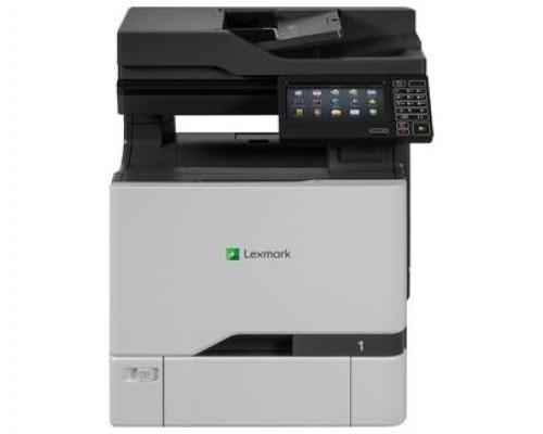 МФУ Lexmark CX727de Лазерное цветное (A4, 1200*1200dpi, 47 стр/мин, дуплекс, сканер, копир, факс, сеть, 2048MБ)