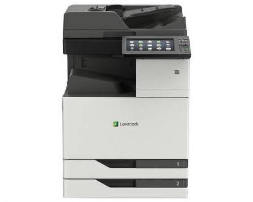 МФУ Lexmark CX922de Лазерное цветное (A4, 1200*1200dpi, 45 стр/мин, дуплекс, сканер, копир, факс, сеть, 2048MБ)