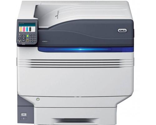 Принтер OKI C931DN цветной светодиодный, A4: 50стр/мин; A3: 28стр/мин (цвет/моно) дуплекс