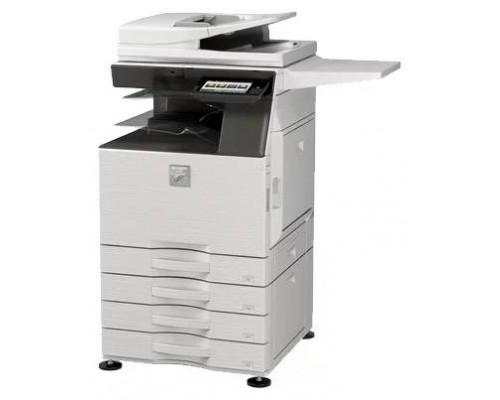 Комплект Цветное МФУ SHARP MX2630NEE  A3, 26 коп/мин, принтер, сканер, копир, дуплекс, сетевой + стартовые тонера (MX60GTBB, MX60GTCB, MX60GTMB, MX60GTYB)