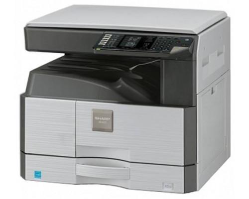 МФУ SHARP AR6020VE А3, 20 стр./мин. формата A4, 1 кассета на 250, MB-100 листов, Копир, SPLC-принтер, Цветной Сканер, Крышка стола, SOPM, SRU, E-sort, USB + комплект расх. материалов в комплекте поставки.
