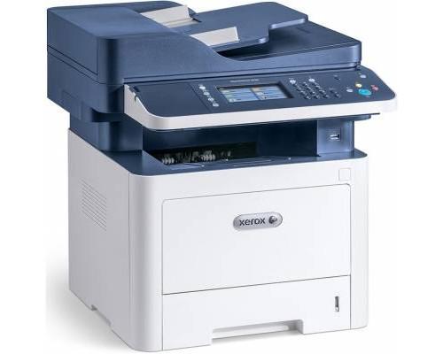 МФУ  XEROX WorkCentre 3335DNI (принтер /сканер /копир /факс, Duplex, ЖК, бело-синий (USB2.0, LAN, WiFi)