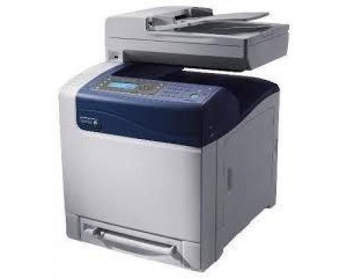 Многофункциональное цветное лазерное устройство XEROX WorkCentre 6505N  (принтер/сканер/копир/факс, PS3, ADF, USB, Eth,)