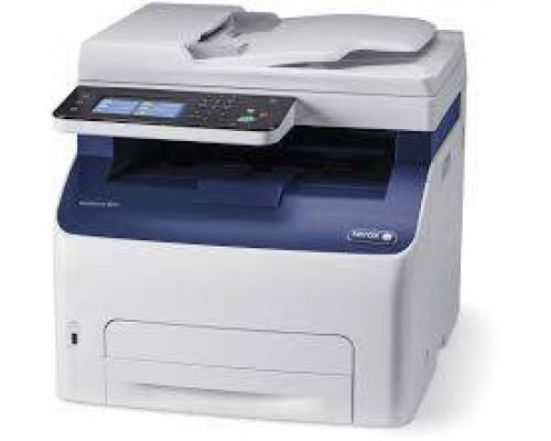 Многофункциональное цветное устройство XEROX WorkCentre 6027V_NI А4 (18стр/мин,принтер/копир/сканер/факс/ автопод/сеть/USB/Wi-Fi)