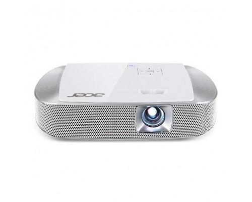 Проектор Acer K137i (DLP, LED, WXGA 1280x800, 700Lm, 10000:1, HDMI, MHL, USB, SD, 2x3W speaker, 3D Ready, led 30000hrs, WHITE, 0.51kg)