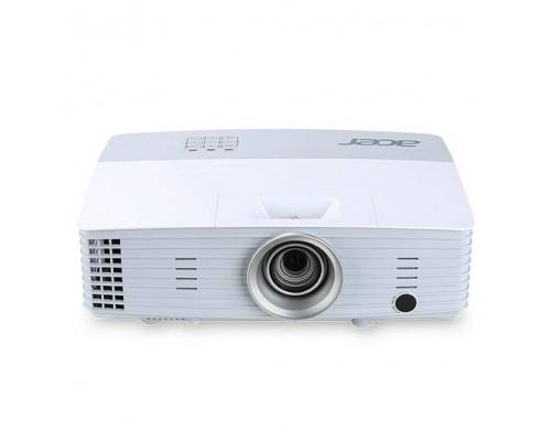Проектор Acer P5227 (DLP, XGA 1024x768, 4000Lm, 20000:1, HDMI, MHL, LAN, 2x10W speaker, 3D Ready, lamp 6000hrs, WHITE, 2.5kg)
