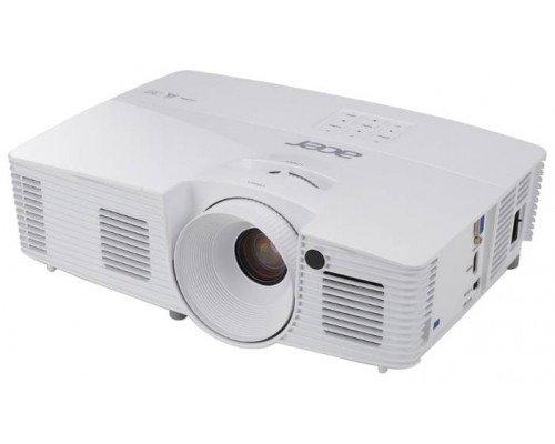 Проектор Acer X117H (DLP, SVGA 800x600, 3600Lm, 20000:1, HDMI, 1x3W speaker, 3D Ready, lamp 10000hrs, WHITE, 2.5kg)