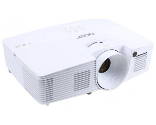 Проектор Acer X127H (DLP, XGA 1024x768, 3600Lm, 20000:1, HDMI, 1x3W speaker, lamp 10000hrs, WHITE, 2.5kg)