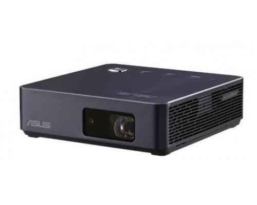 Проектор ASUS S2 (DLP, LED, 720p 1280x720, 500Lm, 1000:1, HDMI, USB Type-C, 1x2W speaker, WiFi, 3D Ready, led 30000hrs, battery, Blue-Black, 0.497kg)