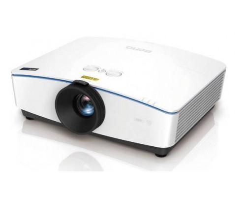 Проектор BENQ LH770 (DLP, 1080p 1920x1080, 5000Lm, 20000:1, +2xНDMI, MHL, LAN, 1x10W speaker, 3D Ready, led 20000hrs, WHITE, 16.0kg)