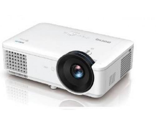 Проектор BENQ LW720 (DLP, WXGA 1280x800, 4000Lm, 100000:1, +2xНDMI, MHL, LAN, 1x10W speaker, 3D Ready, led 20000hrs, WHITE, 5.60kg)