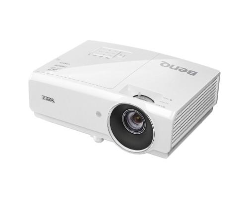 Проектор BENQ MH750 (DLP, 1080p, 1920x1080, 4500Lm, 10000:1, +2xНDMI, MHL, 1x10W speaker, 3D Ready, lamp 4500hrs, WHITE, 3.30kg)
