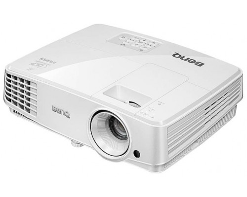 Проектор BENQ MS527 (DLP, SVGA 800x600, 3300Lm, 13000:1, HDMI, 1x2W speaker, 3D Ready, lamp 10000hrs, WHITE, 1.9kg)