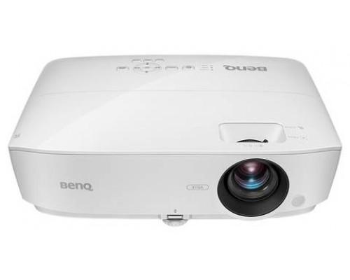 Проектор BENQ MS531 (DLP, SVGA 800x600, 3300Lm, 15000:1, 2xHDMI, 1x2W speaker, 3D Ready, lamp 10000hrs, WHITE, 2,38kg)