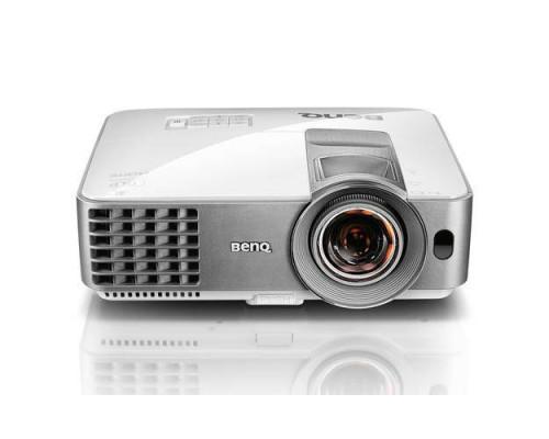 Проектор BENQ MS630ST (DLP, SVGA 800x600, 3200Lm, 13000:1, HDMI, MHL, 1x10W speaker, 3D Ready, lamp 10000hrs, short-throw, WHITE, 2.6kg)