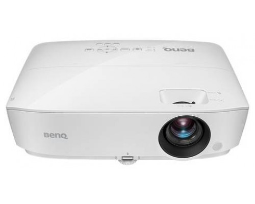 Проектор BENQ MW533 (DLP, WXGA 1280x800, 3300Lm, 15000:1, 2xHDMI, 1x2W speaker, 3D Ready, lamp 10000hrs, WHITE, 2.41kg)