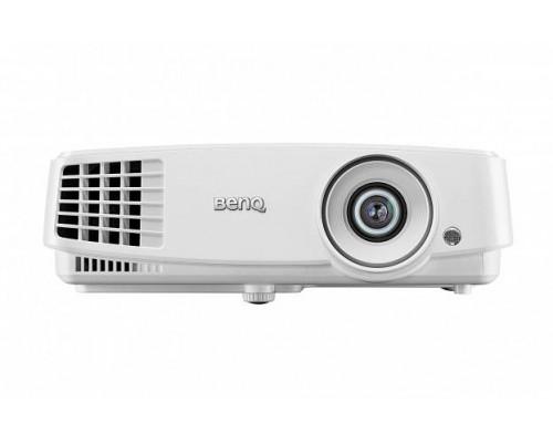 Проектор BENQ MW571 (DLP, WXGA 1280x800, 3200Lm, 13000:1, HDMI, LAN, 1x10W speaker, 3D Ready, lamp 10000hrs, WHITE, 1.9kg)