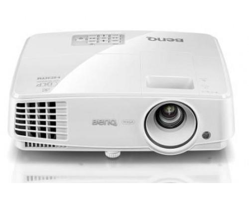 Проектор BENQ MW707 (DLP, WXGA 1280x800, 3500Lm, 13000:1, +2xНDMI, MHL, LAN, 1x10W speaker, 3D Ready, lamp 15000hrs, WHITE, 2.0kg)