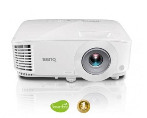 Проектор BENQ MW732 (DLP, WXGA 1280x800, 4000Lm, 20000:1, +2xНDMI, MHL, +2xUSB, LAN, 1x10W speaker, 3D Ready, lamp 15000hrs, WHITE, 2.50kg)