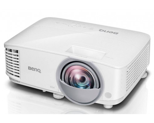Проектор BENQ MX808ST (DLP, XGA 1024x768, 3000Lm, 20000:1, +НDMI, 3D Ready, lamp 15000hrs, short-throw, WHITE, 2.60kg)