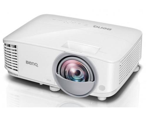 Проектор BENQ MX825ST (DLP, XGA 1024x768, 3300Lm, 20000:1, +2xНDMI, MHL, LAN, 1x10W speaker, 3D Ready, lamp 15000hrs, short-throw, WHITE, 2.60kg)