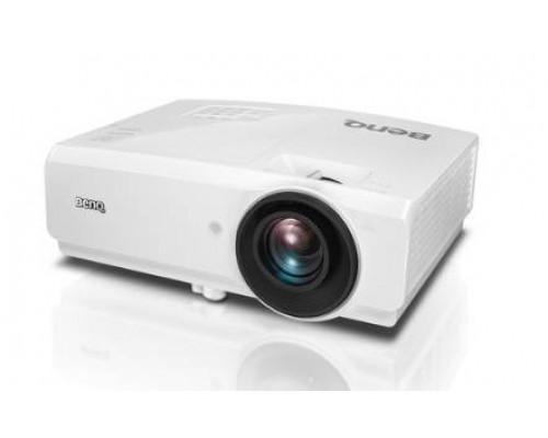 Проектор BENQ SW752+ (DLP, WXGA 1280x800, 5000Lm, 13000:1, +2xНDMI, LAN, MHL, 1x10W speaker, 3D Ready, lamp 4500hrs, WHITE, 3.3kg)