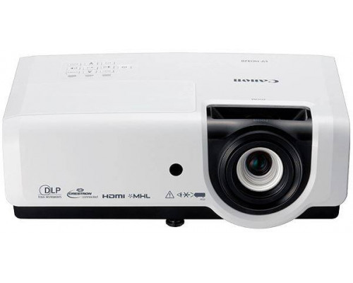 Проектор Canon LV-HD420 (DLP, 1080p 1920x1080, 4200Lm, 8000:1, HDMI, LAN, MHL, 1x10W speaker, 3D Ready, lamp 3000hrs, White, 3.4kg)