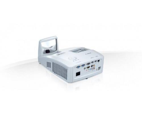 Проектор Canon LV-WX300UST (DLP, WXGA 1280x800, 3000Lm, 2300:1, HDMI, LAN, 2x10W speaker, lamp 8000hrs, ultra short-throw, WHITE, 5kg)