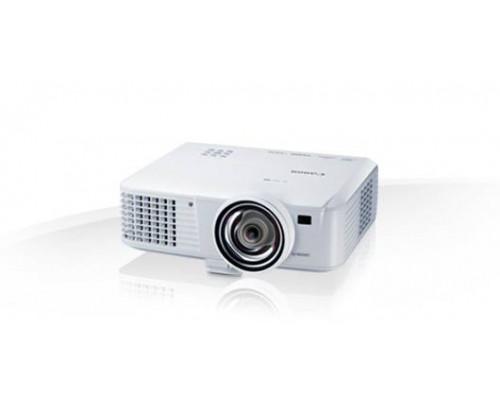 Проектор Canon LV-WX310ST (DLP, WXGA 1280x800, 3100Lm, 10000:1, HDMI, LAN, MHL, 1x10W speaker, 3D Ready, lamp 6000hrs, short-throw, WHITE, 2,8kg)