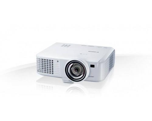 Проектор Canon LV-X310ST (DLP, XGA 1024x768, 3100Lm, 10000:1, HDMI, LAN, MHL, 1x10W speaker, 3D Ready, lamp 6000hrs, short-throw, WHITE, 2,8kg)