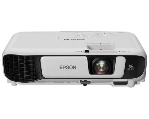 Проектор Epson EB-S41 (LCD, SVGA 800x600, 3300Lm, 15000:1, HDMI, USB, 1x2W speaker, lamp 10000hrs, WHITE, 2.5kg)