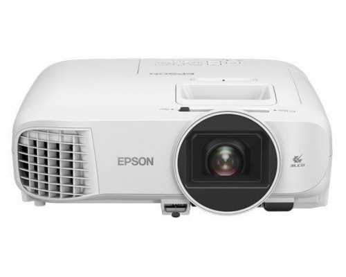 Проектор Epson EH-TW5400 (LCD, 1080p 1920x1080, 2500Lm, 30000:1, 2xHDMI, MHL, USB, 1x10W speaker, 3D, lamp 7500hrs, WHITE, 3.2kg)