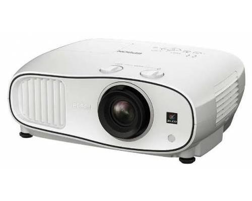 Проектор Epson EH-TW6700 (LCD, 1080p 1920x1080, 3000Lm, 70000:1, 2xHDMI, MHL, USB, 2x10W speaker, 3D, lamp 5000hrs, WHITE, 6.9kg)