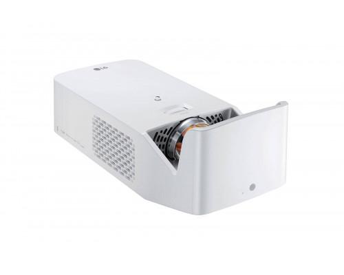 Проектор LG HF65LSR (DLP, LED, 1080p 1920x1080, 1000Lm, 150000:1, HDMI, LAN, USB, 2x3W speaker, WiFi, Bluetooth, 3D Ready, webOS 4.0,  led 30000hrs, ultra short-throw, Black, 1,9kg)