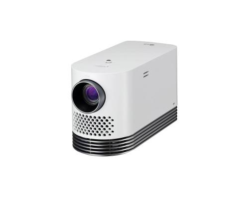 Проектор LG HF80JS (DLP, Laser, 1080p 1920x1080, 2000Lm, 150000:1, 2xHDMI, LAN, 2xUSB, 2x3W speaker, WiFi(2,4/5 ГГц), Bluetooth, SmartTV, webOS 3.0, laser diode 20000hrs, WHITE, 2.1kg)