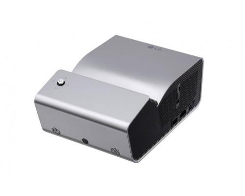 Проектор LG PH450UG (DLP, LED, 720p 1280x720, 450Lm, 100000:1, HDMI, MHL, USB, 2x1W speaker, WiFi, Bluetooth, 3D Ready, led 30000hrs, battery, ultra short-throw, Silver, 1,1kg)