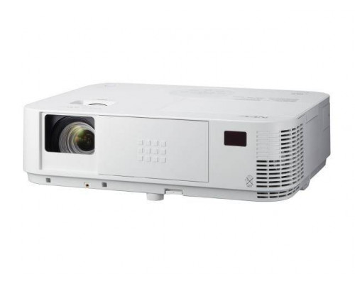 Проектор NEC M403H (DLP, 1080p 1920x1080, 4000Lm, 10000:1, HDMI, USB, LAN, 1x20W speaker, 3D Ready, lamp 8000hrs, WHITE, 3.7kg)