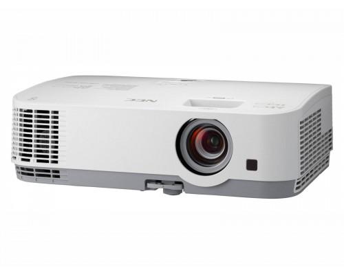 Проектор NEC ME301W (LCD, WXGA 1280x800, 3000Lm, 6000:1, 2xHDMI, LAN, USB, 1x20W speaker, lamp 9000hrs, WHITE, 2.9kg)