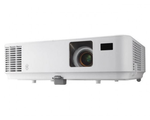 Проектор NEC V302W (DLP, WXGA 1280x800, 3000Lm, 10000:1, HDMI, LAN, 1x8W speaker, 3D Ready, lamp 6000hrs, WHITE, 2.7kg)