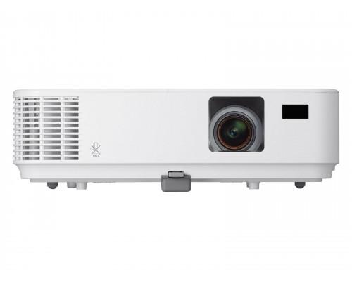 Проектор NEC V302X (DLP, XGA 1024x768, 3000Lm, 10000:1, HDMI, LAN, 1x8W speaker, 3D Ready, lamp 6000hrs, WHITE, 2.7kg)