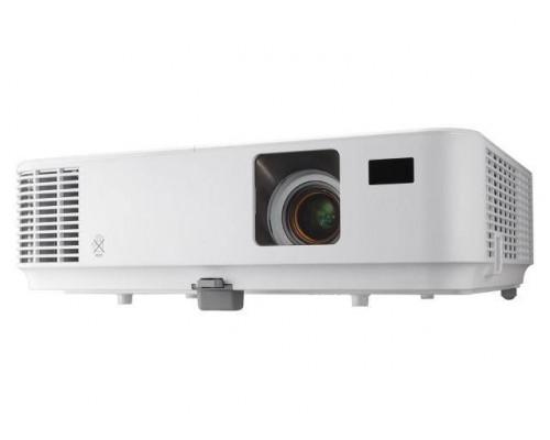 Проектор NEC V332X (DLP, XGA 1024x768, 3300Lm, 10000:1, HDMI, MHL, LAN, 1x8W speaker, 3D Ready, lamp 6000hrs, WHITE, 2.8kg)