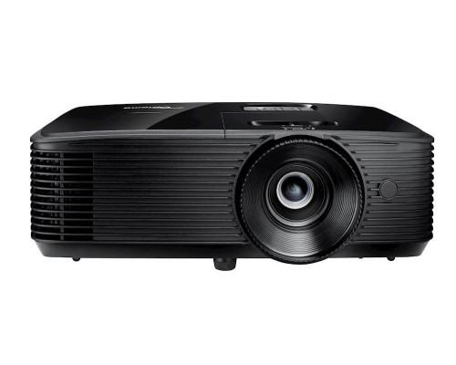 Проектор Optoma DH350 (DLP, 1080p 1920x1080, 3200Lm, 22000:1, 2xHDMI, MHL, 1x10W speaker, 3D, lamp 12000hrs, Black, 2.87kg)