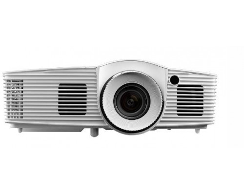 Проектор Optoma HD152X (DLP, 1080p 1920x1080, 3200Lm, 30000:1, 2xHDMI, MHL, 1x10W speaker, 3D, lamp 15000hrs, White, 2.81kg)