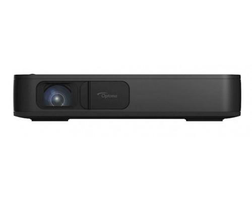 Проектор Optoma HL10 (DLP, LED, 1080p 1920x1080, 1500Lm, 200000:1, 2xHDMI, 2x4W speaker, 3D Ready, led 30000hrs, battery, Black, 2.20kg)