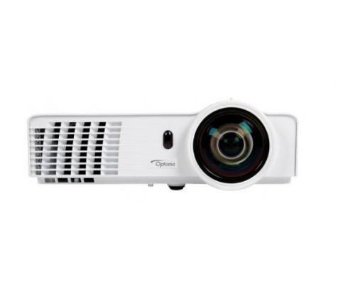 Проектор Optoma W303ST (DLP, WXGA 1280x800, 3000Lm, 18000:1, HDMI, LAN, 1x2W speaker, 3D Ready, lamp 6000hrs, short-throw, White, 2.55kg)