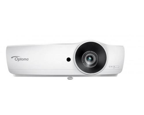 Проектор Optoma W461 (DLP, WXGA 1280x800, 5000Lm, 20000:1, 2xHDMI, MHL, USB, LAN, 1x10W speaker, 3D Ready, lamp 4500hrs, White, 2.95kg)