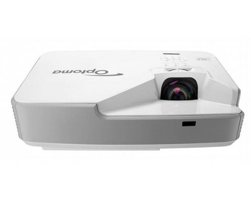 Проектор Optoma ZX310STe (DLP, Laser, XGA 1024x768, 3500Lm, 100000:1, 2xHDMI, LAN, 1x10W speaker, 3D Ready, laser diode 20000hrs, short-throw, White, 6.00kg)