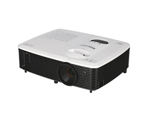 Проектор Ricoh PJ S2440 (DLP, SVGA 800x600, 3000Lm, 10000:1, HDMI, 1x2W speaker, 3D Ready, lamp 6000hrs, White-Black, 2.6kg)
