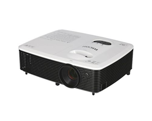 Проектор Ricoh PJ WX2440 (DLP, WXGA 1280x800, 3000Lm, 10000:1, HDMI, MHL, 1x2W speaker, 3D Ready, lamp 6000hrs, White-Black, 2.6kg)